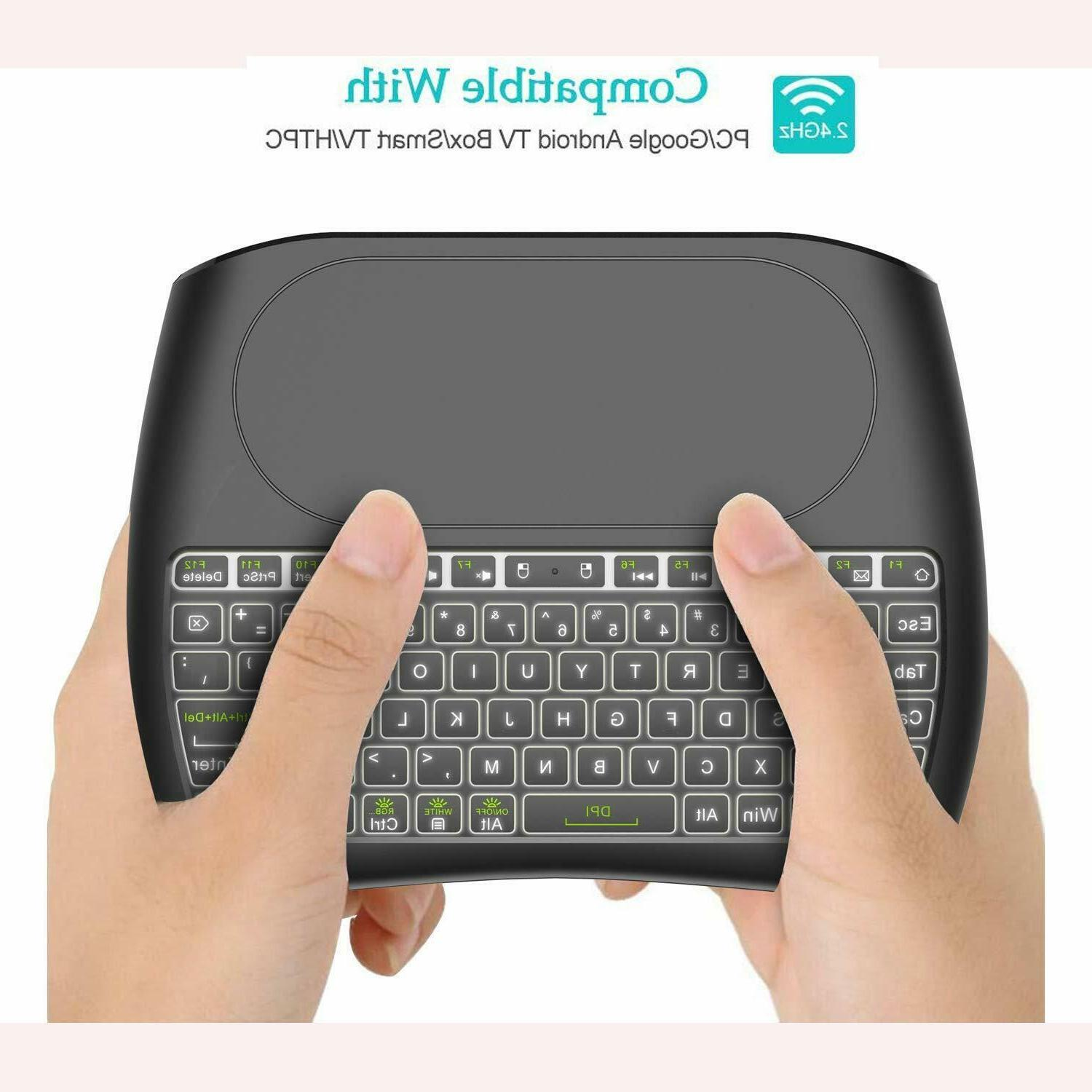Mini Wireless with Large Mouse Battery &Handheld