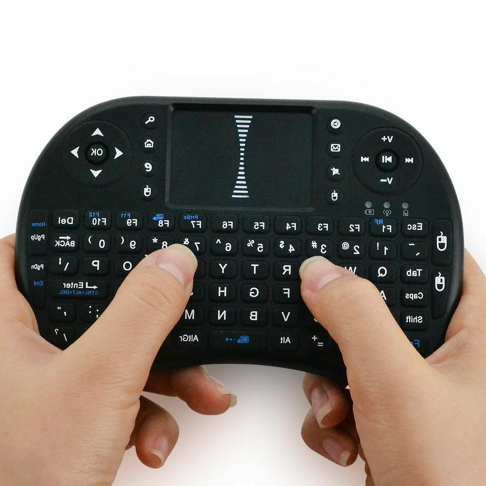 Mini Wireless Keyboard for Android Box i8 2.4GHz Touchpad.