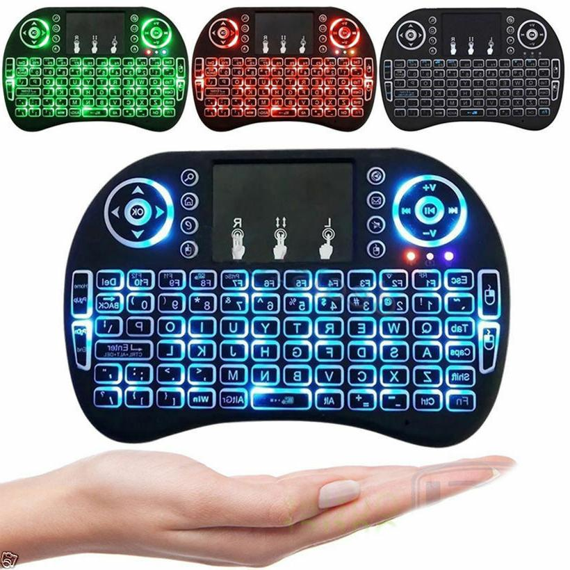 Mini Keyboard for TV Android Box 2.4GHz Touchpad.