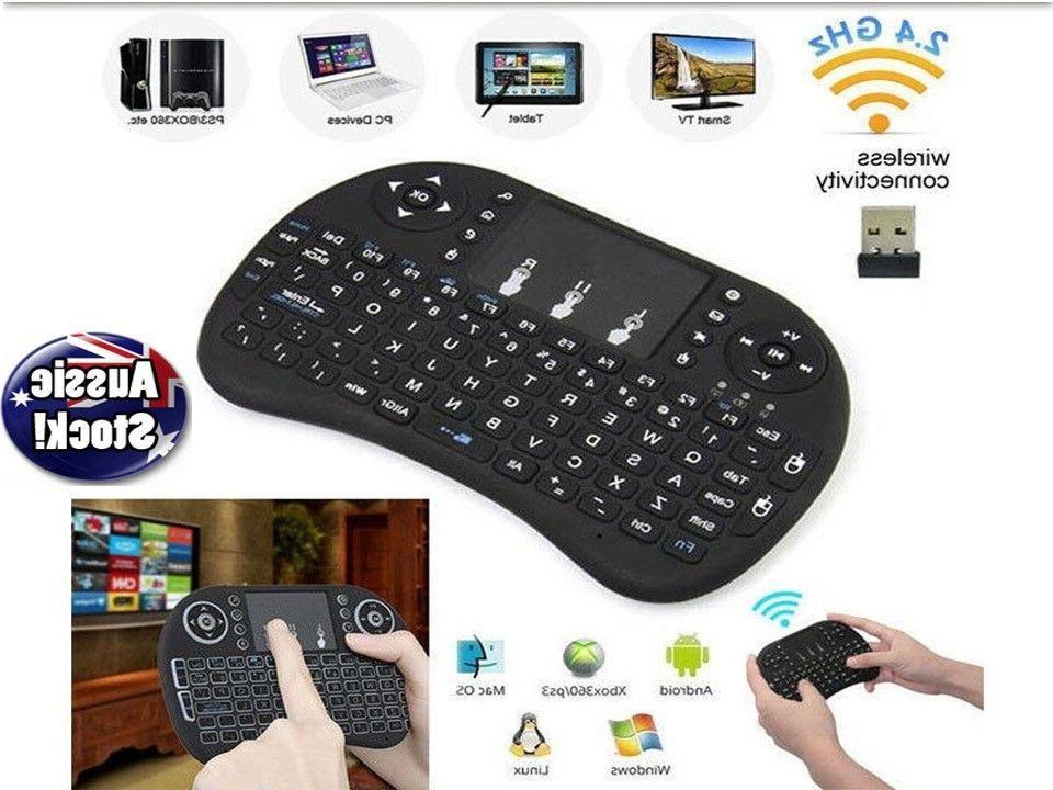 mini wireless remote keyboard for smart tv