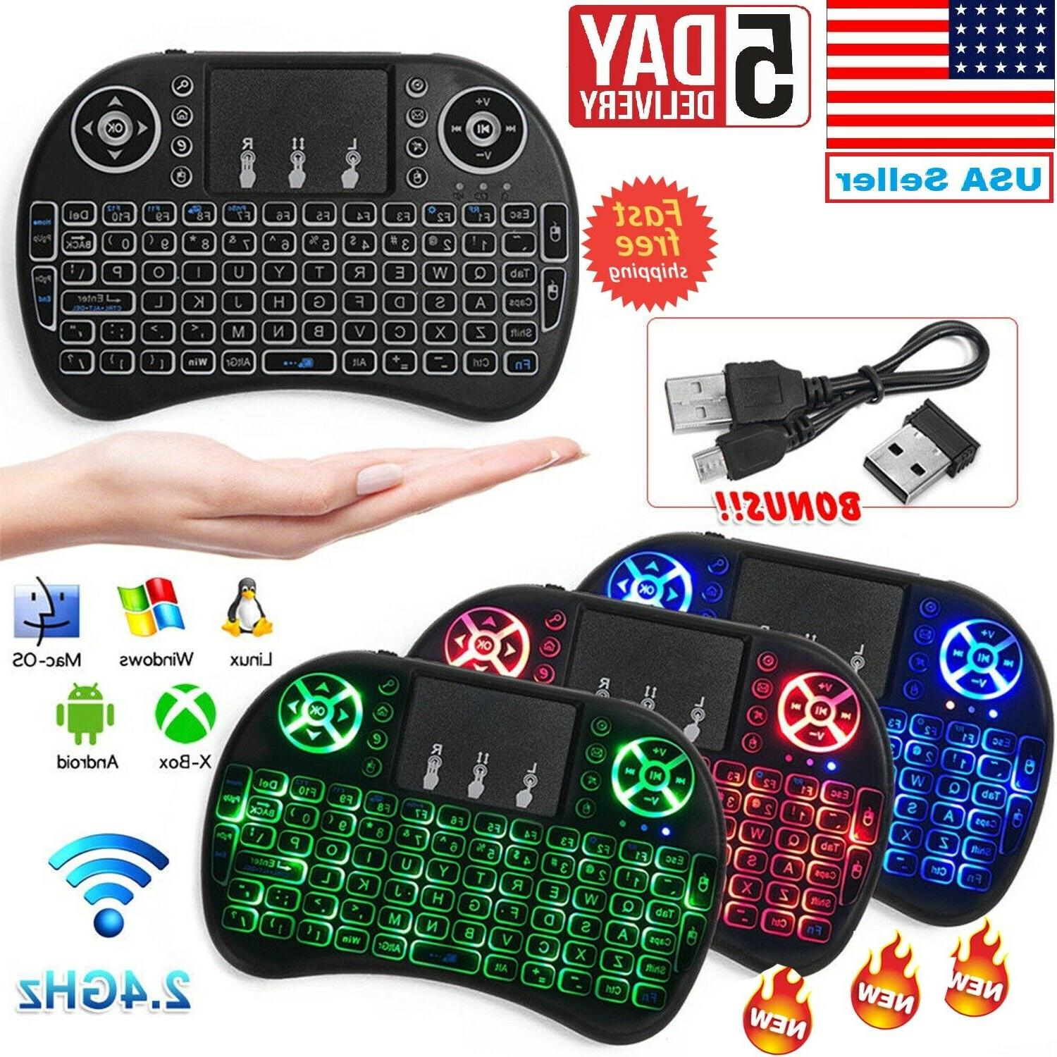 mini wireless remote keyboard mouse for samsung