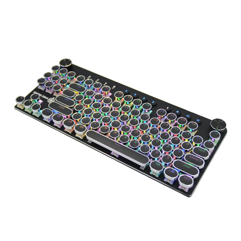 mk11 rgb mechanical keyboard bluetooth wireless wire