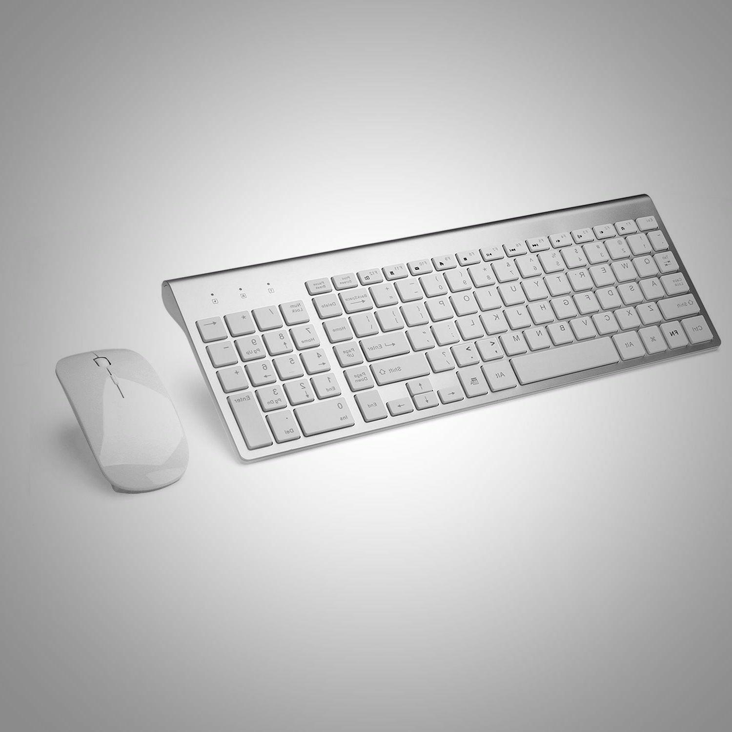 Wireless And Mouse Combo Set 2.4G For Mac Size
