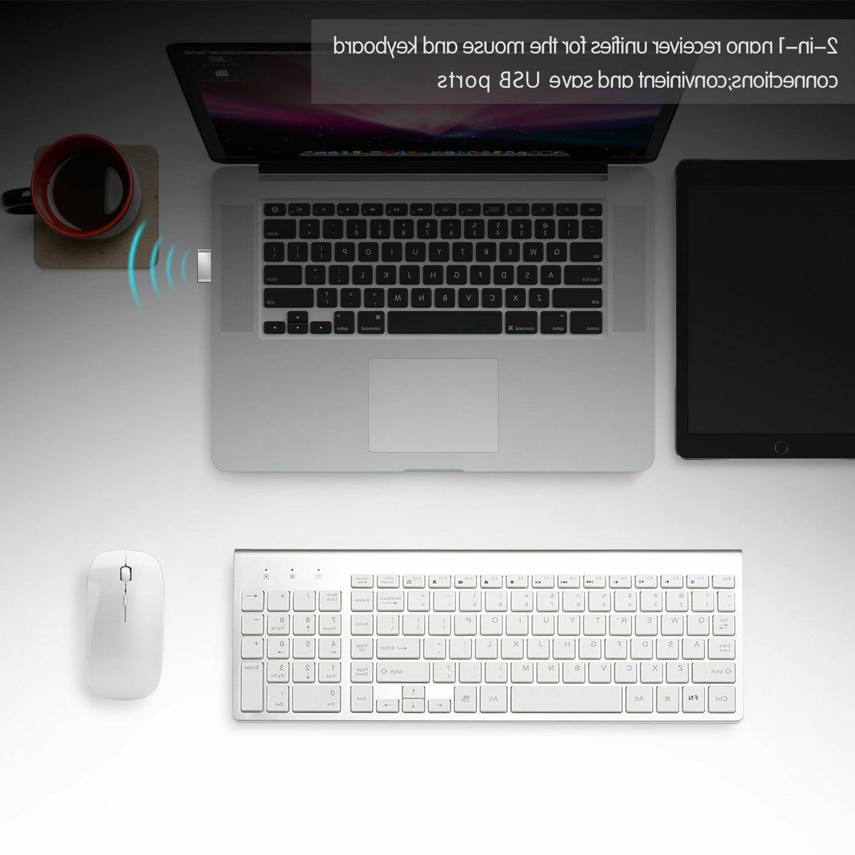 Wireless Keyboard Combo Mac Apple Size