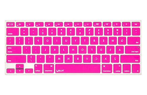 neon pink keyboard cover silicone