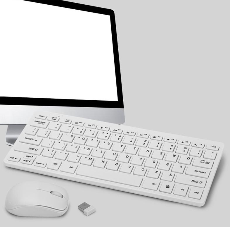 New Slim Keyboard and Mouse 2.4G Portable PC