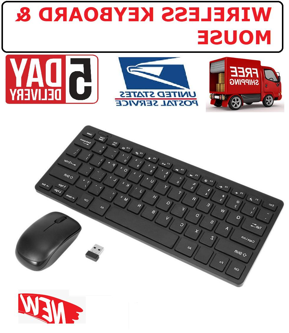 new slim wireless keyboard and mouse combo
