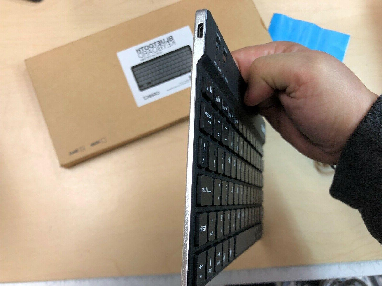 NEW Orbo Ultra Slim Keyboard 3.0 Pairing BLACK