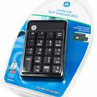 NEW GE Wireless USB Number Key Pad Keyboard+Extension Cable