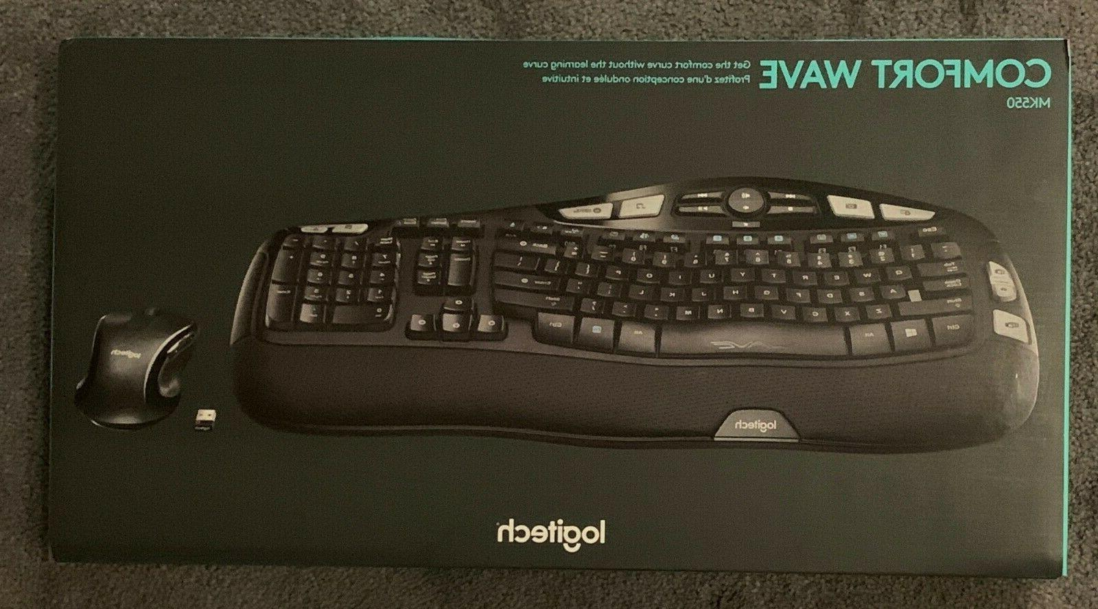 new wireless wave combo mk550 with keyboard