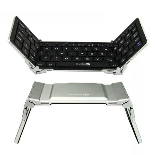iClever Portable Bluetooth Keyboard Ultraslim Mini Wireless