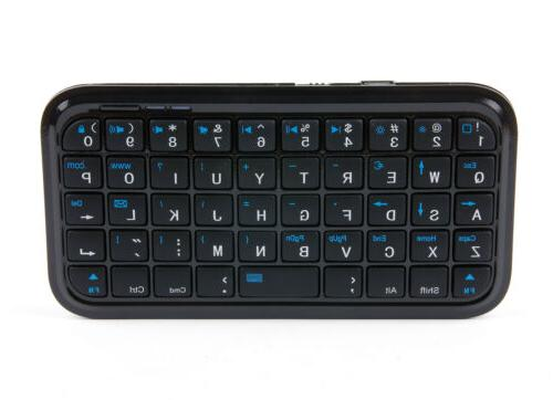 Portable Wireless Mini Keyboard with for A8 - by DURAGADGET