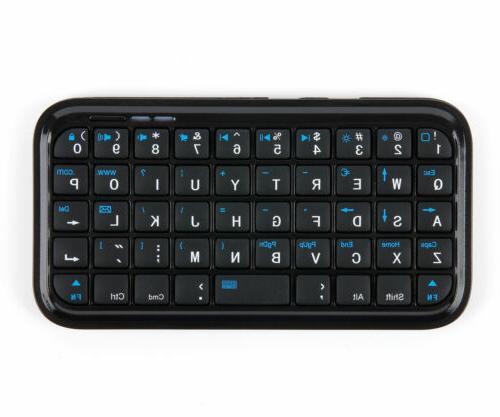 portable wireless mini keyboard with bluetooth