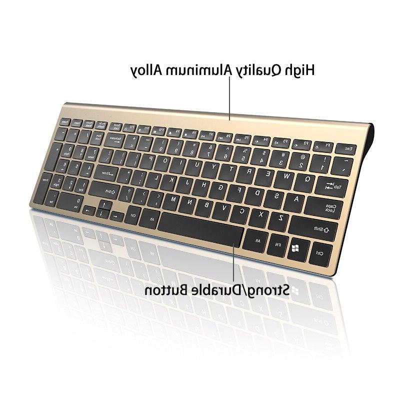 Rechargeable <font><b>Wireless</b></font> <font><b>Keyboard</b></font> <font><b>Mouse</b></font> Silent Ergonomic Set
