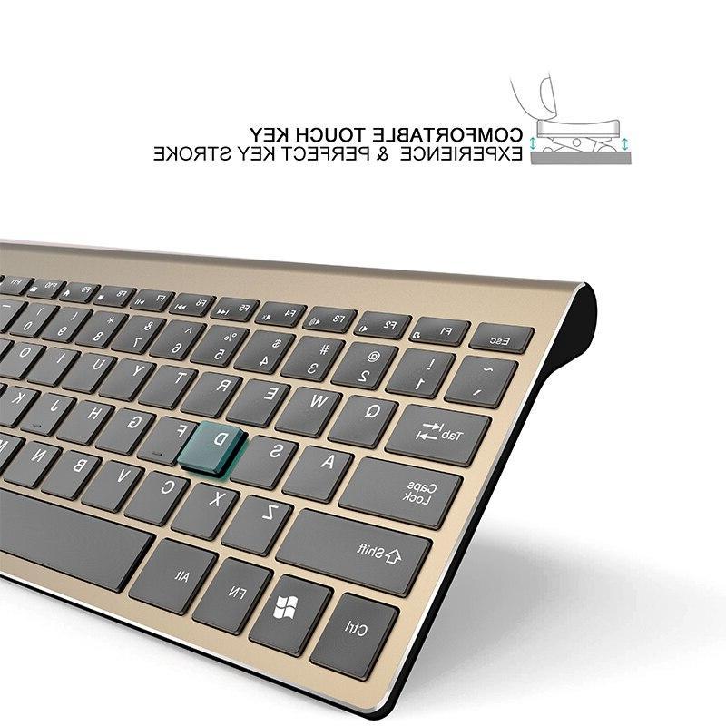 Rechargeable <font><b>Keyboard</b></font> <font><b>Mouse</b></font> <font><b>Combo</b></font> Silent Computer Ergonomic <font><b>Mouse</b></font> Set