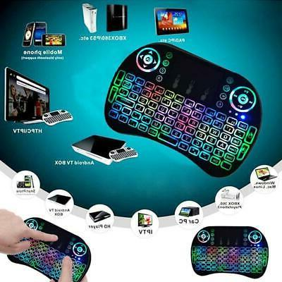 2.4G Mini Wireless Keyboard Mouse Touchpad For Android Lapto