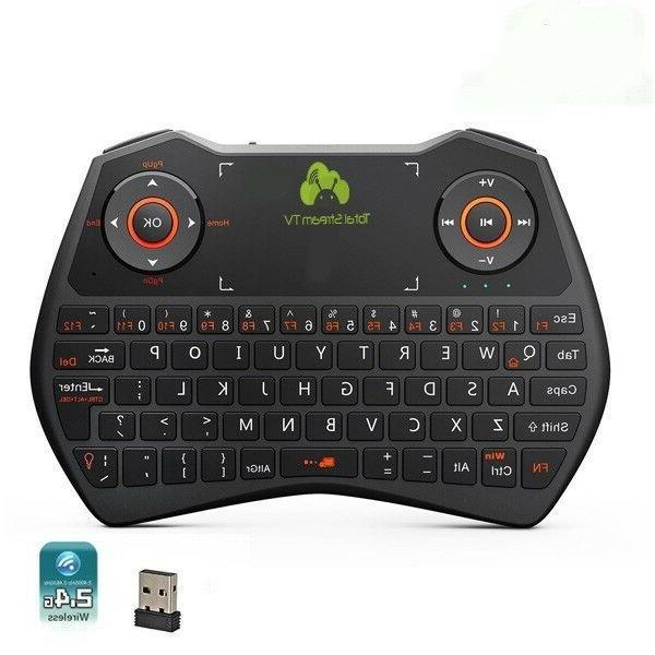 rii i28c mini wireless touchpad keyboard combo