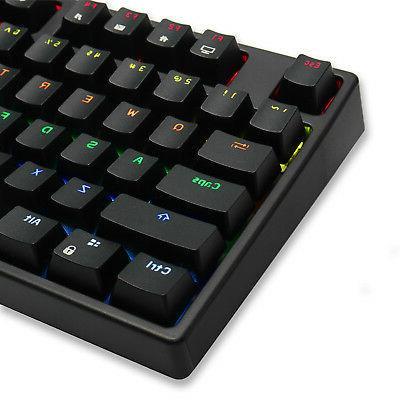 RK 87 Keys / Wireless LED Mechanical Keyboard