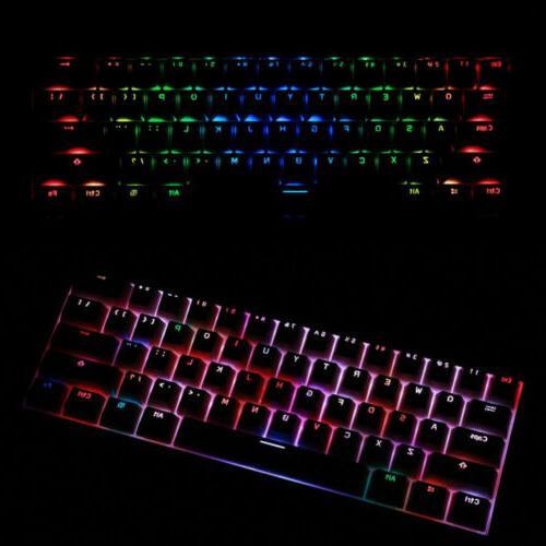 RK61 Wireless Bluetooth Backlit Gaming Keyboard
