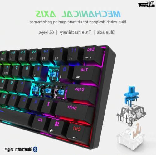 RK61 Backlit Mode Backlight Gaming