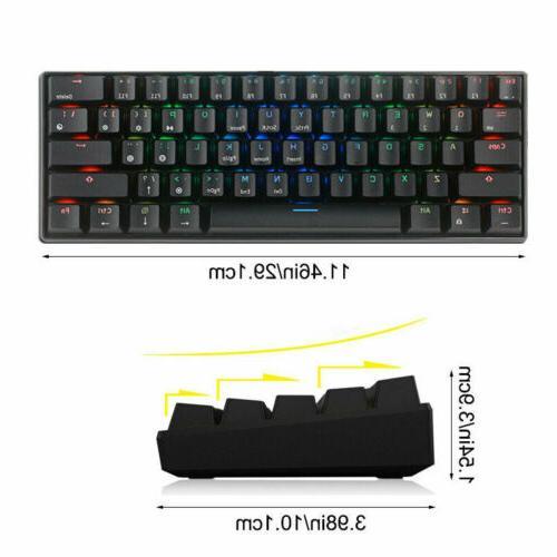 RK61 RGB Backlit Mode Gaming