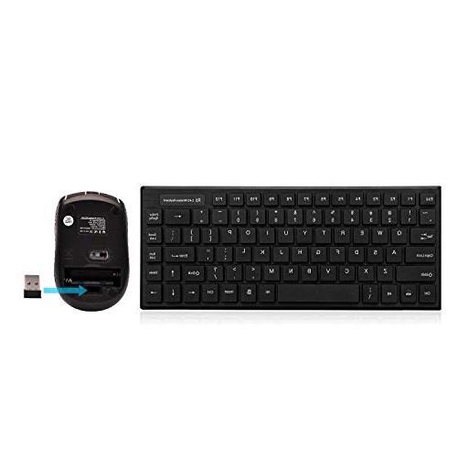 rk700 multimedia wireless keyboard mouse