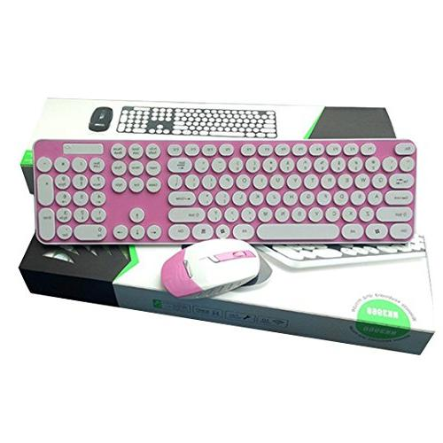 wireless keyboard mouse combo bright