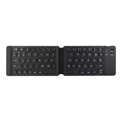 For Samsung A50 A20 - WIRELESS KEYBOARD FOLDING RECHARGEABLE