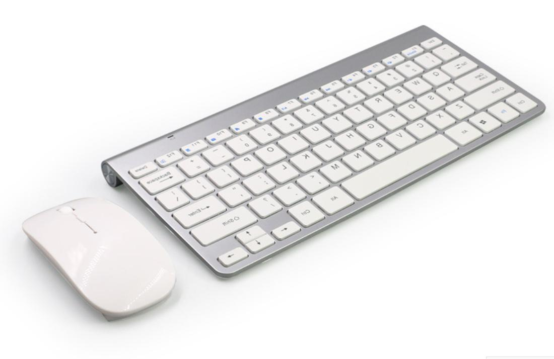 Generic SILVER Keyboard And Mouse Combo Slim