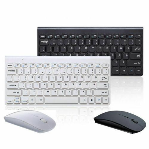 USB 2.4GHZ Wireless Keyboard and Cordless Mouse Combo Kit Se