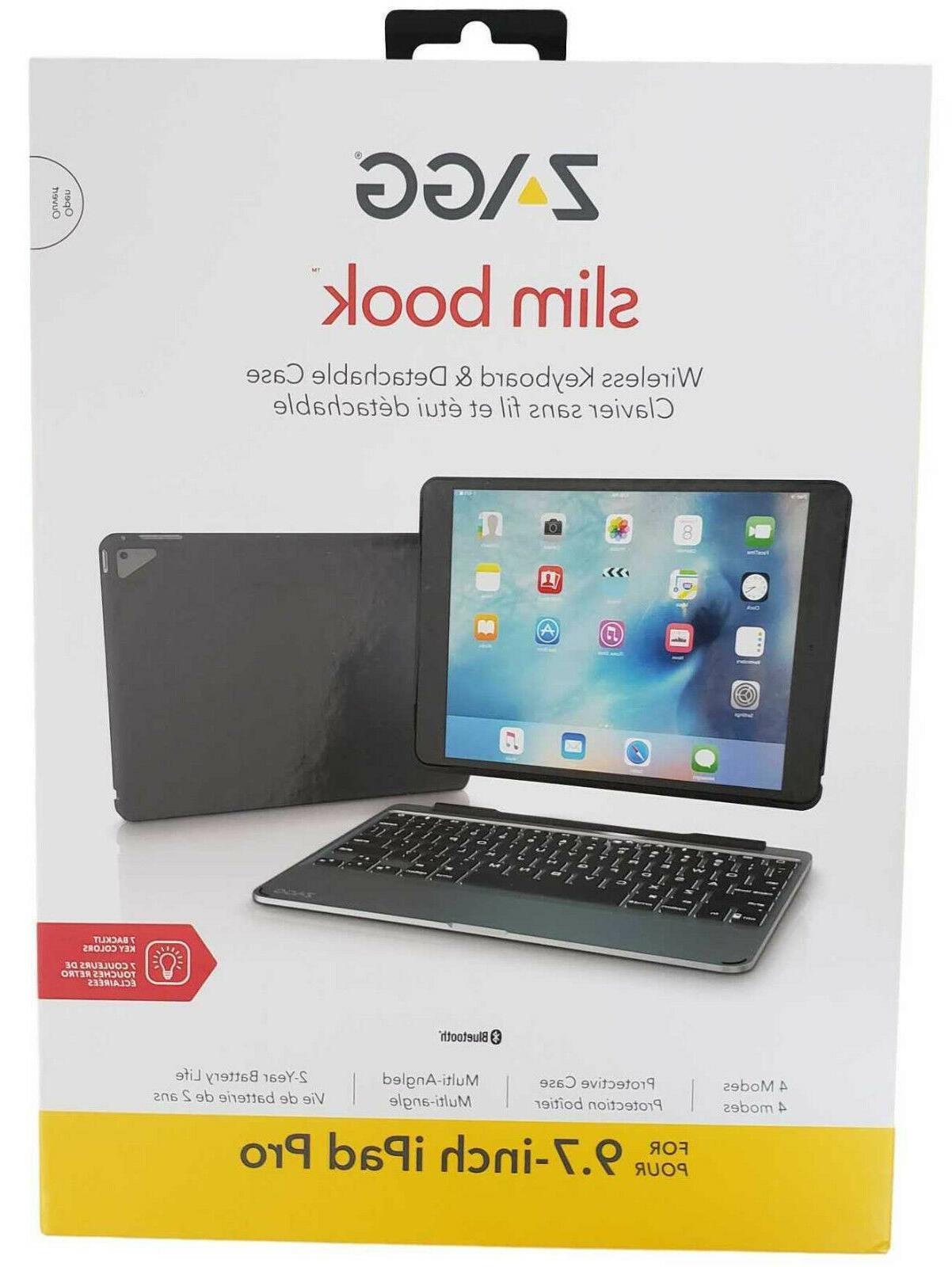 Zagg Slim Book Pro Keyboard Case New
