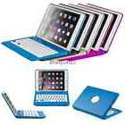 Stand Case Shell Cover with Wireless Bluetooth Keyboard For