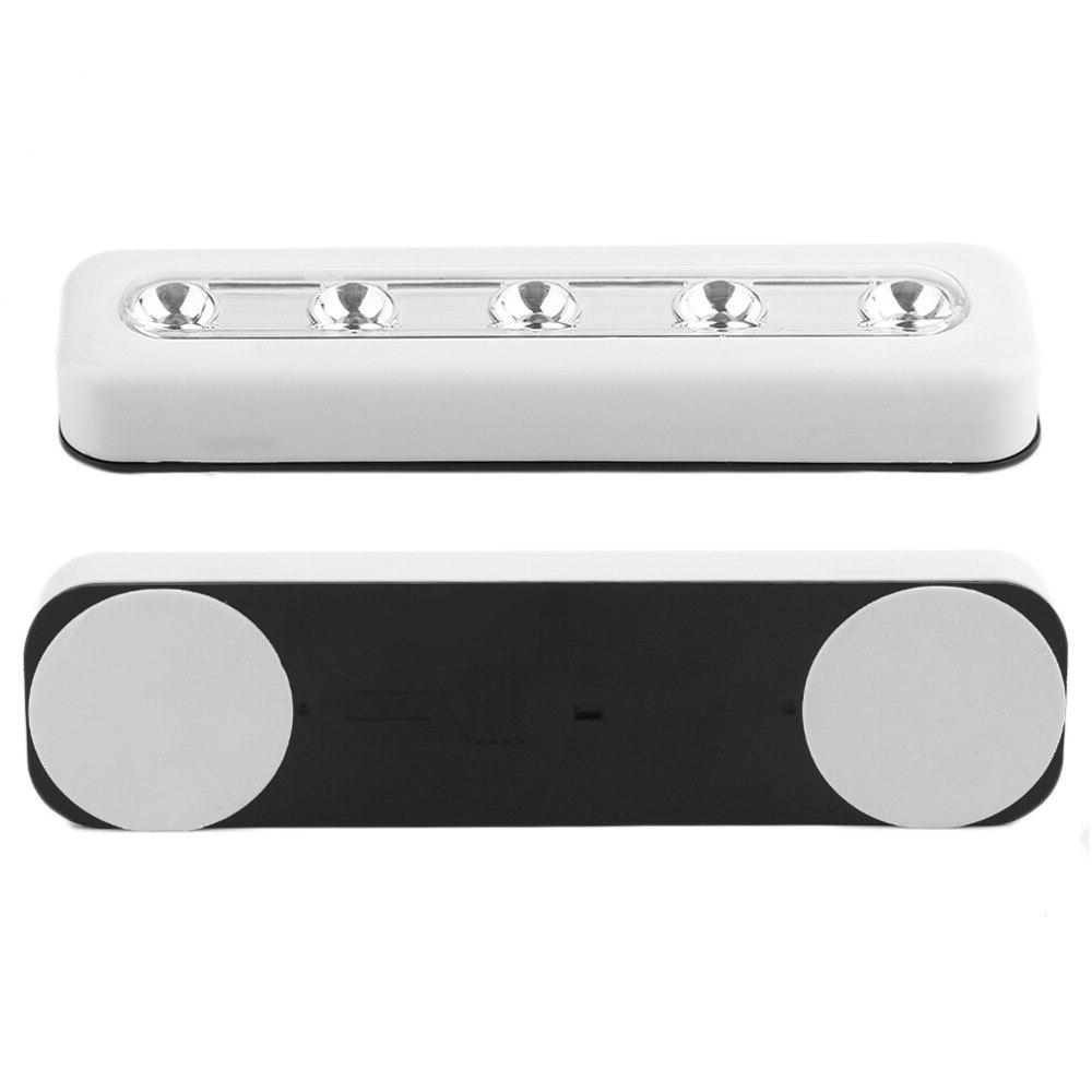 Super <font><b>Wireless</b></font> Wall Light 5 Cabinet Closet Self-<font><b>Stick</b></font> Light Home Emergency