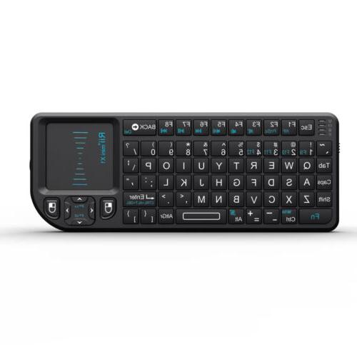 Rii tek 2.4G Wireless Keyboard with Control