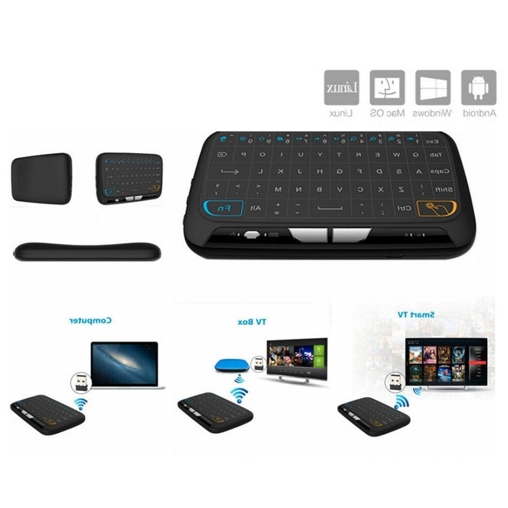touchpad wireless usb keyboard 2 4g air