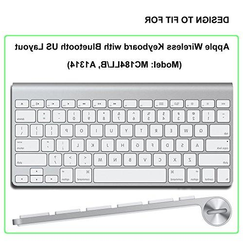 ProElife Ultra Thin Silicone Keyboard Protector Cover for Apple Keyboard with MC184LL/B Clear