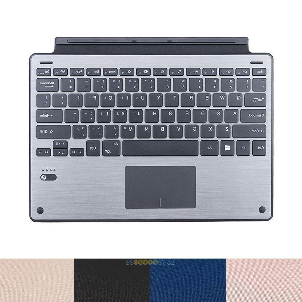 Ultrathin Wireless Bluetooth Keyboard TouchPad for Microsoft