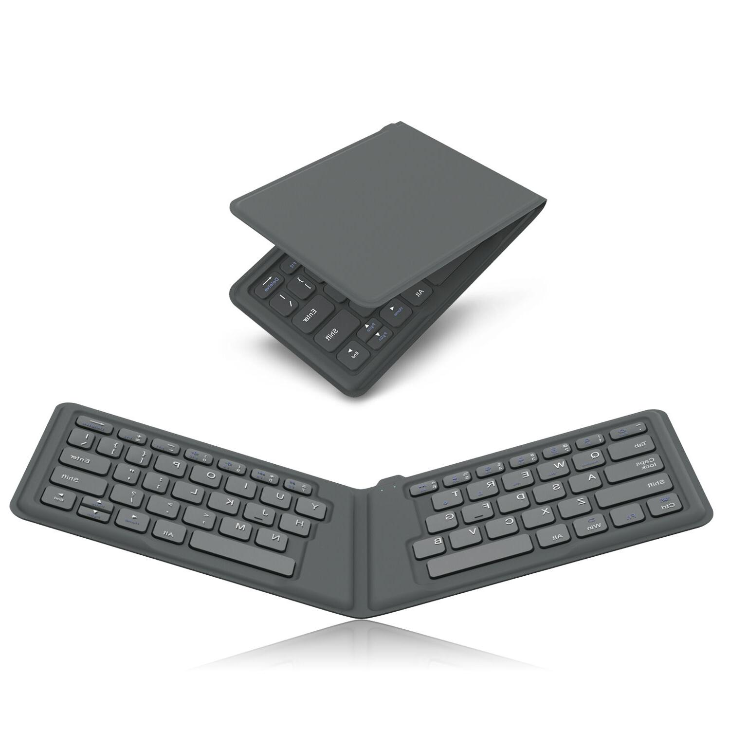 universal foldable bluetooth keyboard for ipad iphone