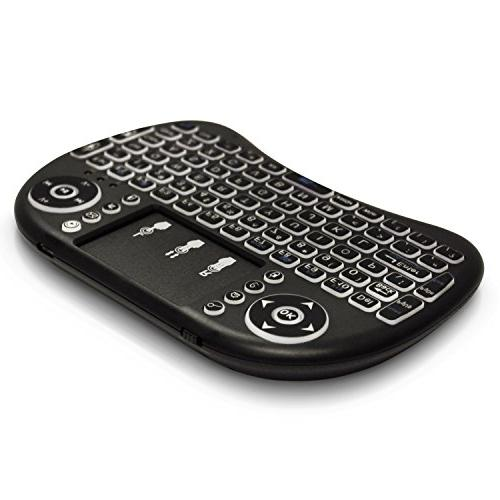 Universal Keyboard Mouse Linux Chrome Computer Android TV Box - Backlit,