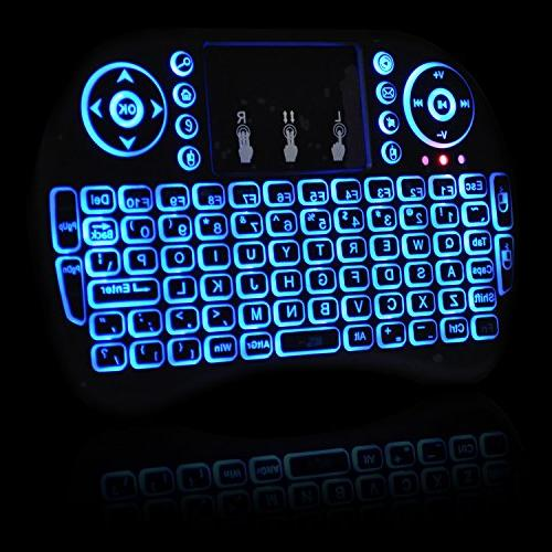 Universal 2.4Ghz USB Keyboard Mouse for Chrome Mac Computer Box -