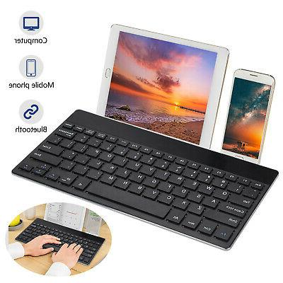 universal wireless bluetooth keyboard ultra thin