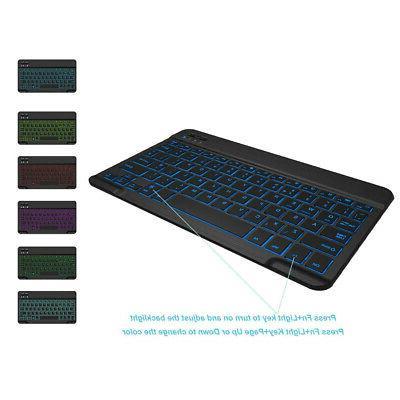 Universal USB Gaming Keyboard Computer 7LED Backlit