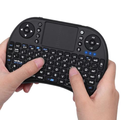 2.4Ghz Mini Wireless Keyboard with Touchpad for PC, XBox, PS