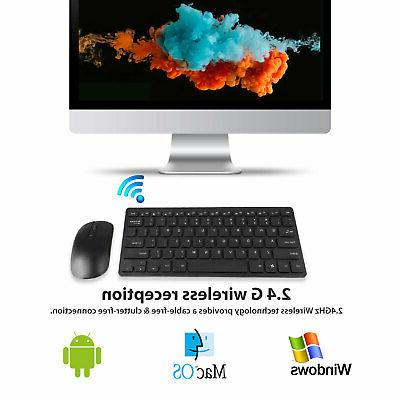 USB Keyboard and Cordless Combo Kit for Laptop PC