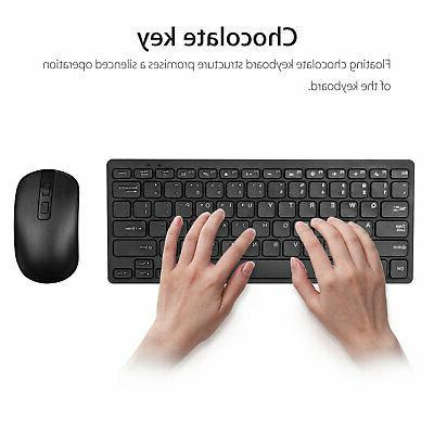 USB Keyboard Cordless Combo Laptop