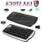 Wireless 2.4GHz Mini Keyboard Trackball Mouse Scroll 79 Keys