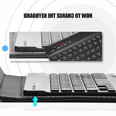 Wireless Keyboard Leather iPhone / Phones