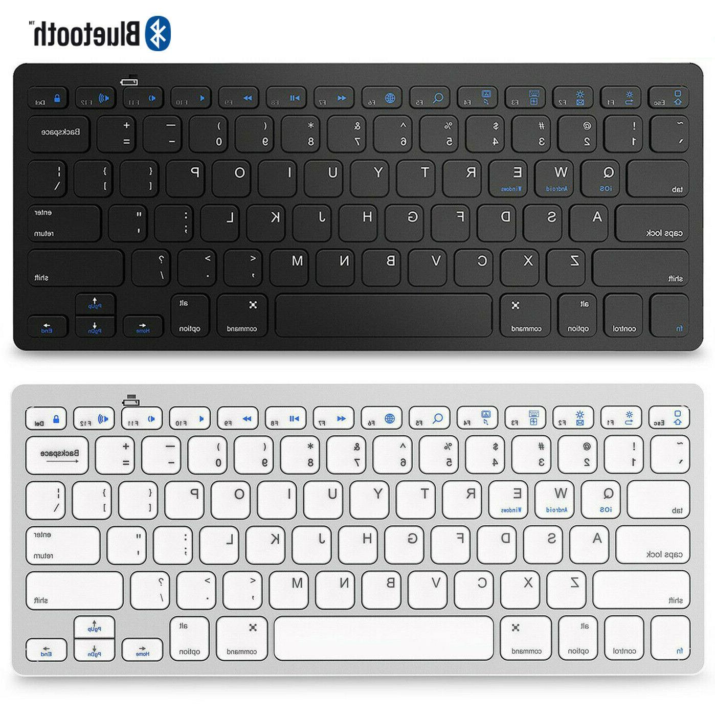 wireless bluetooth keyboard for ios android windows