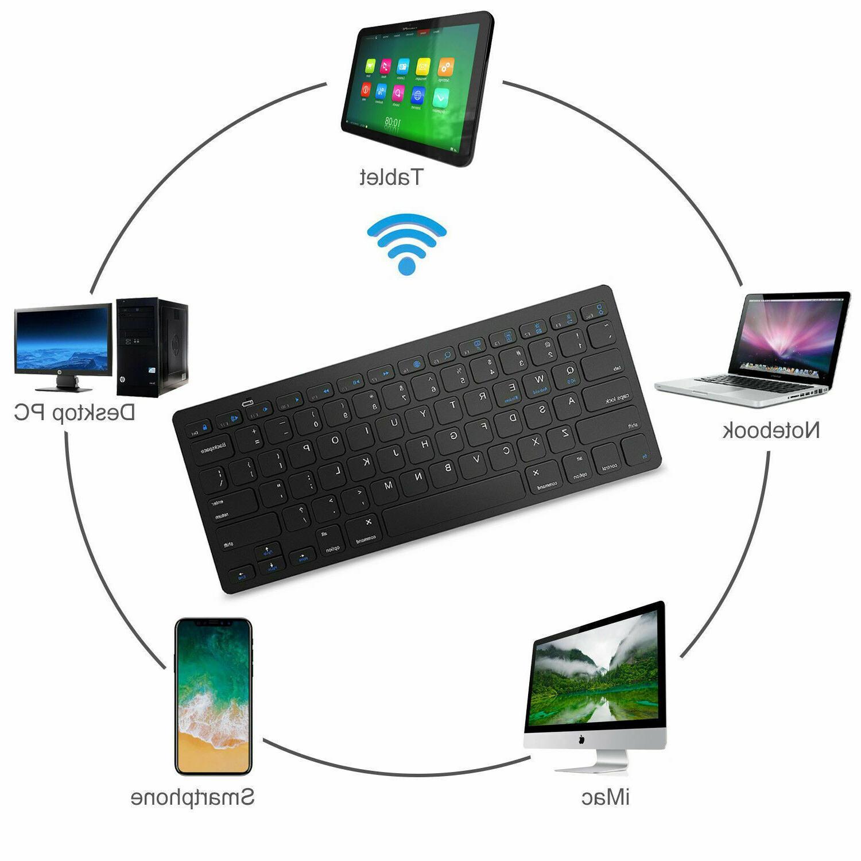 Wireless Keyboard iOS Android Windows OS