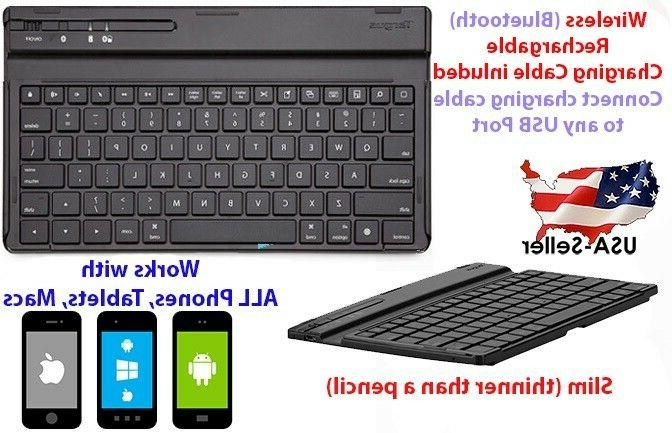 wireless bluetooth keyboard slim for macs android